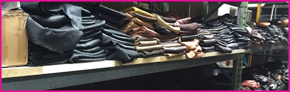 Big Selection of Lamb Leather